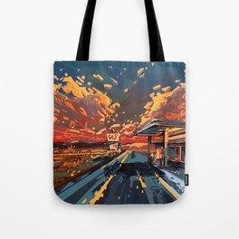 american landscape 7 Tote Bag
