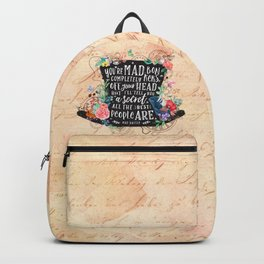 Mad Hatter Backpack