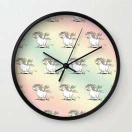 Farting Unicorn Wall Clock