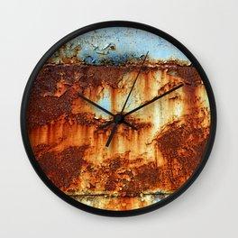 Colors of Rust _756 / ROSTart Wall Clock
