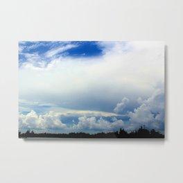 Florida Clouds  Metal Print