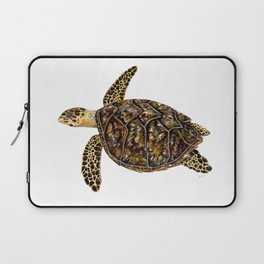 Hawksbill sea turtle (Eretmochelys imbricata) Laptop Sleeve