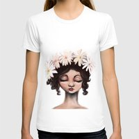 daisies T-shirts featuring Daisies by Jaleesa McLean