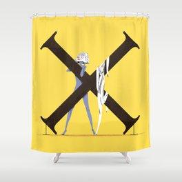 Xenosa & Exocet Shower Curtain