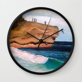 Shipwreck Rock, Kauai Wall Clock
