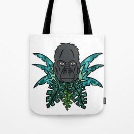 Gorilla in the Jungle[Multicolored] Tote Bag