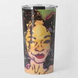 I am Black Girl Magic 2 Travel Mug