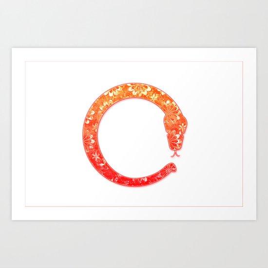 Eto Snake Art Print
