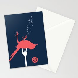 If A Bird Doesn't Sing Series 1 of 3 Stationery Cards