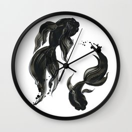 Koi fishes Wall Clock
