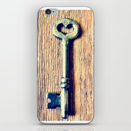 Heart Shaped Key iPhone Skin