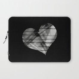 Black heart Laptop Sleeve