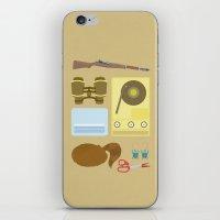 moonrise kingdom iPhone & iPod Skins featuring Moonrise Kingdom by winnie