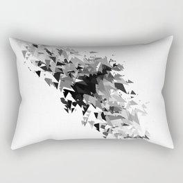 Triangles flow Rectangular Pillow