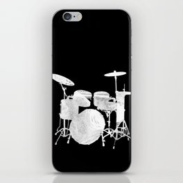 Invert drum iPhone Skin