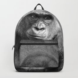 Gorilla Ape Thinking  Backpack