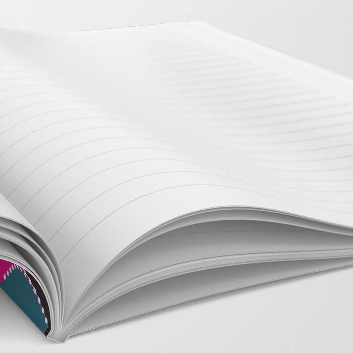 Multi-colored pattern . Notebook