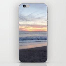 zuma beach sunset iPhone Skin