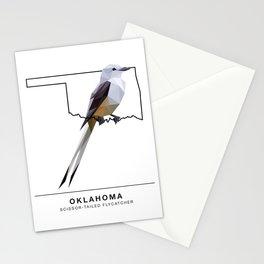 Oklahoma – Scissor-Tailed Flycatcher Stationery Cards