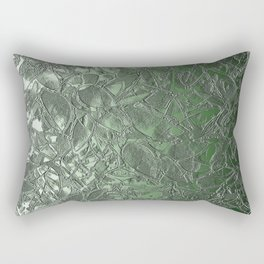 Grunge Relief Floral Abstract G167 Rectangular Pillow