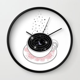 Reading the Coffee Grounds Wall Clock