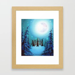 Witch Coven Framed Art Print