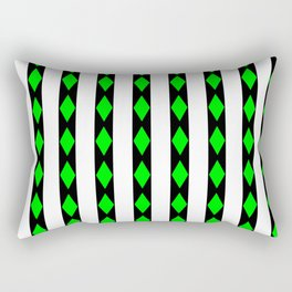 Emerald Aisle Rectangular Pillow