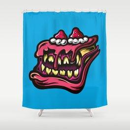 Cake Monster Shower Curtain