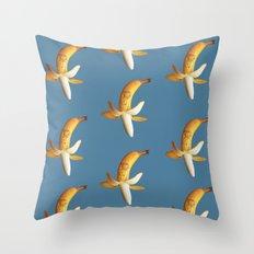 Marilyn Banana Throw Pillow