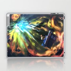 Man on the Edge of Forever Laptop & iPad Skin