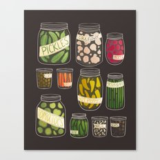 Pickled Canvas Print