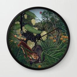 Henri Julien Félix Rousseau (painter) Wall Clock