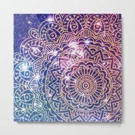 Space mandala 6 Metal Print
