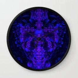 Darkstar Kin Purple Wall Clock