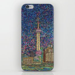 City Nights and City Lights iPhone Skin