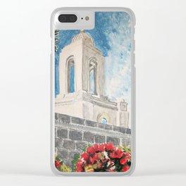 Newport Beach California LDS Temple Clear iPhone Case