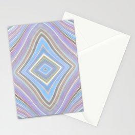Mild Wavy Lines VII Stationery Cards