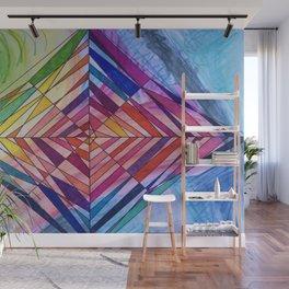 Diamond Web Wall Mural