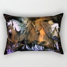 Beautiful horses Rectangular Pillow