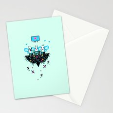 The Social Butterflies Stationery Cards
