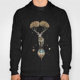 Asteroid Brain Diagnostics // (metaphysical deer) Hoody