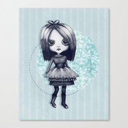 Gothy Girl Canvas Print