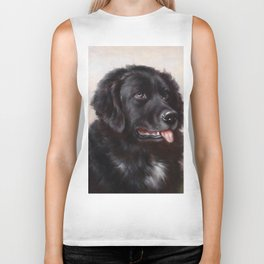 The Newfoundland Dog - Carl Reichert Biker Tank