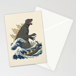 The Great Monster Off Kanagawa Stationery Cards