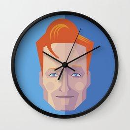 Geometric Conan Wall Clock
