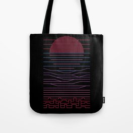 Leave The City For The Sea Tote Bag