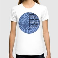 damask T-shirts featuring Industrial Damask by Jason Simms