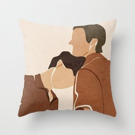 Call me by your name Movie Fanart Throw Pillow