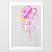 Jelly Belly Art Print
