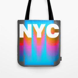 NYC colorful print design Tote Bag